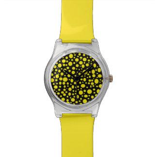 Schwarzes Meer der gelben Blasen-Uhr