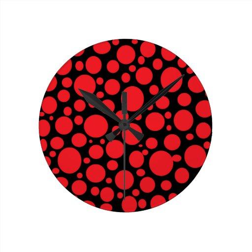 Schwarzes Meer der roten Blasen-Uhr