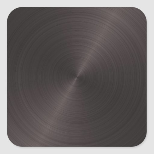 Schwarzes Metall Stickers