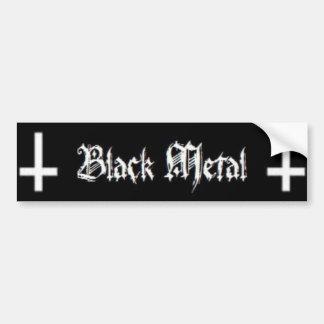 Schwarzes Metall Autoaufkleber