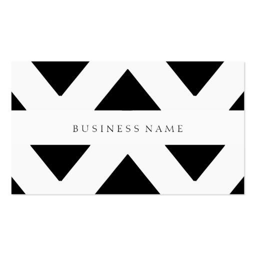 Schwarzes Muster Visitenkarten Vorlagen