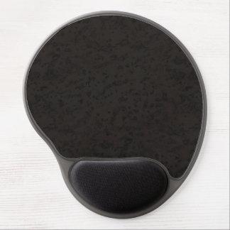 Schwarzes Naturkork-Barken-Blick-Holz-Korn Gel Mouse Pad