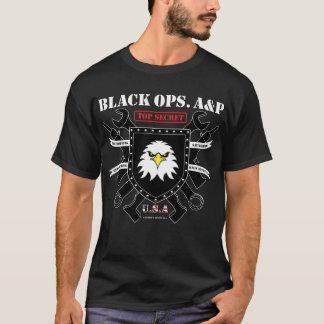 Schwarzes Ops. A&P T-Shirt