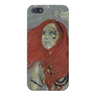 Schwarzes perlt Meerjungfrau-Speck-Kasten iPhone 5 Hülle