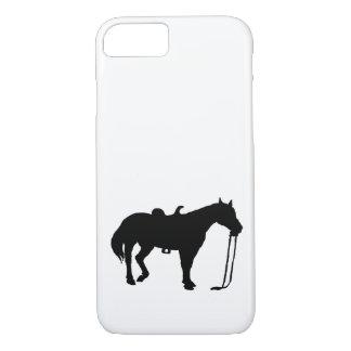 Schwarzes Pferd iPhone 8/7 Hülle