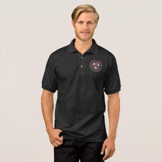 Schwarzes Polo der Männer Baumwoll