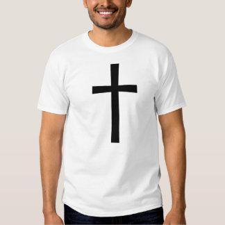 Schwarzes QuerShirt Shirts