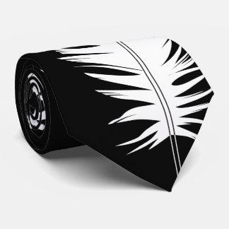 Schwarzes, Raben und Feder Personalisierte Krawatten