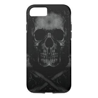 Schwarzes Schädel iPhone 7 stark iPhone 8/7 Hülle