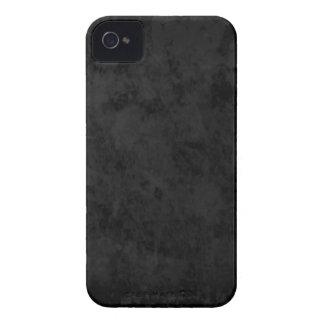 Schwarzes Schiefer-BlackBerry-mutiger Kasten Case-Mate iPhone 4 Hülle