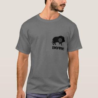 Schwarzes Schwein unten! Shirt