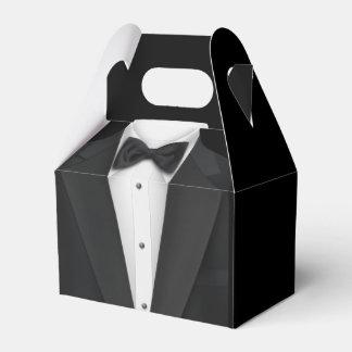 Schwarzes Smoking Geschenkschachtel