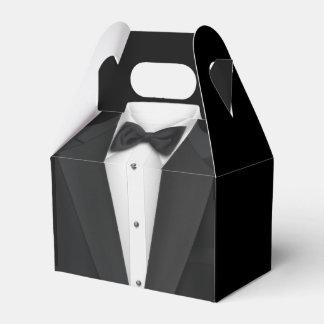 Schwarzes Smokings-und Hochzeits-Kleid Geschenkkarton