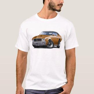 Schwarzes Spitzenauto 1970-72 Buicks GS Brown T-Shirt
