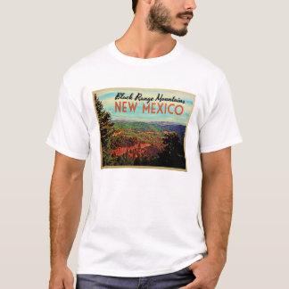 Schwarzes Strecken-New Mexiko T-Shirt