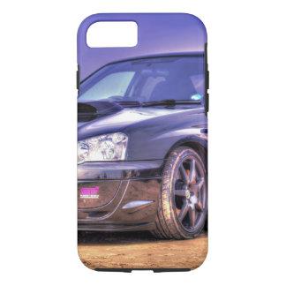 Schwarzes Subaru Impreza WRX WTI iPhone 8/7 Hülle