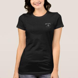 Schwarzes T-Shirt durch BG Luis für Galane Gosses