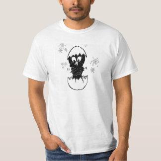 Schwarzes T-Stück der Parakeets-nur Luke im T-Shirt