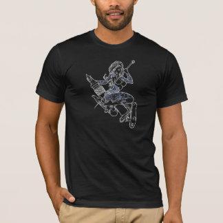 Schwarzes T-Stück MGs T-Shirt