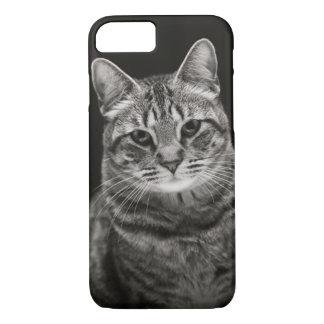 Schwarzes Tabby-Kätzchen iPhone 8/7 Hülle