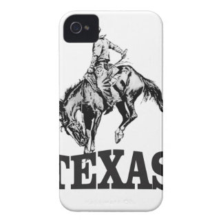 Schwarzes Texas iPhone 4 Case-Mate Hülle