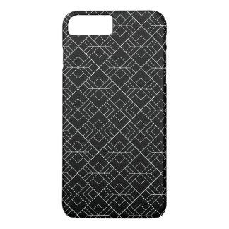 Schwarzes u. weißes geometrisches Muster Iphone7 iPhone 8 Plus/7 Plus Hülle