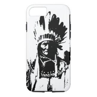 Schwarzes u. weißes Geronimo iPhone 8/7 Hülle