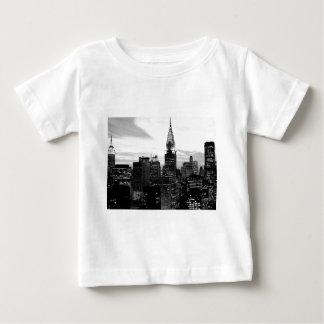 Schwarzes u. weißes New York Baby T-shirt