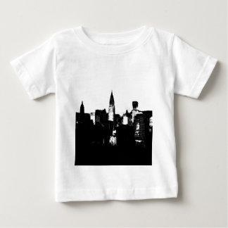 Schwarzes u. weißes New York City Baby T-shirt