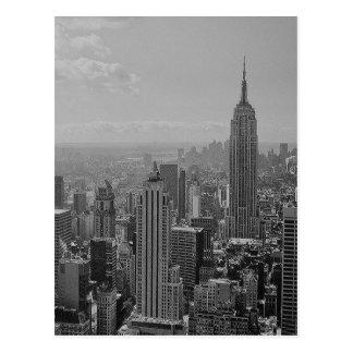 Schwarzes u. weißes New York City Postkarten