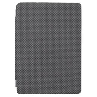Schwarzes und graues Kohlenstoff-Faser-Polymer iPad Air Hülle
