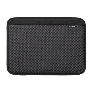 Schwarzes und graues Kohlenstoff-Faser-Polymer Sleeves Fürs MacBook Air