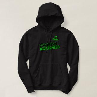 Schwarzes und Grün Dwarifsm Hoodie