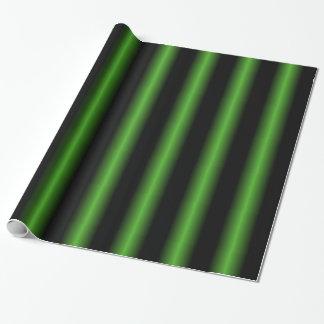 Schwarzes und grünes Packpapier
