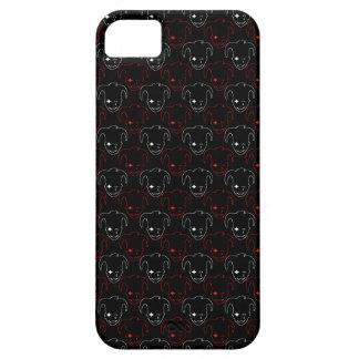 Schwarzes und rotes MTJ iPhone 5 Schutzhüllen