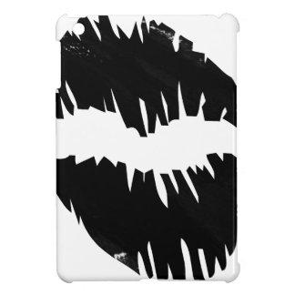 Schwarzmarkierung-goth Kuss iPad Mini Hülle