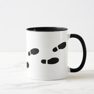 Schwarzweiss-Abdruck-Tasse Tasse