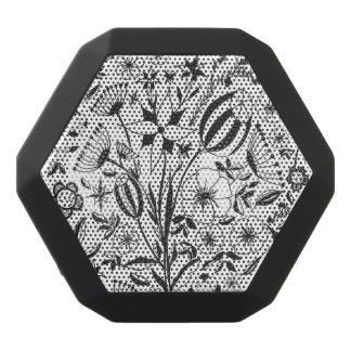 Schwarzweiss-Blumenstrauß Schwarze Bluetooth Lautsprecher