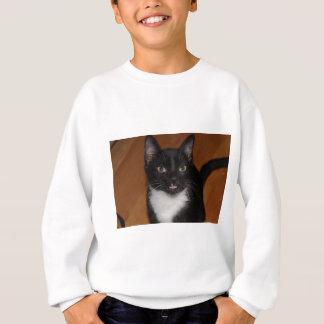 SCHWARZWEISS-CAT SWEATSHIRT