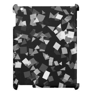 Schwarzweiss-Confetti iPad Schale