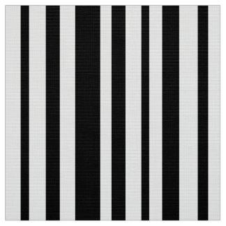 Schwarzweiss-Designerstreifen - hohe Qualität Stoff