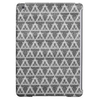 Schwarzweiss-Dreieck-geometrisches Muster