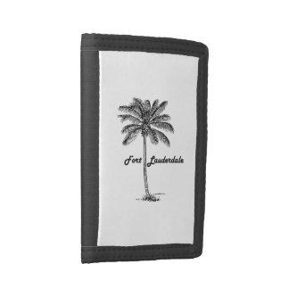Schwarzweiss-Fort Lauderdale- u. Palmenentwurf