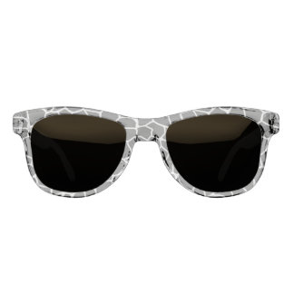 Schwarzweiss-Giraffen-Druck-Tier-Muster Brille
