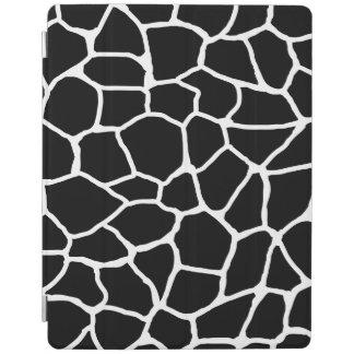 Schwarzweiss-Giraffen-Druck-Tier-Muster iPad Hülle