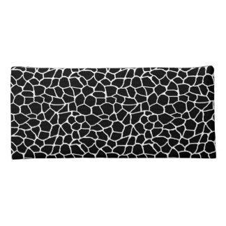 Schwarzweiss-Giraffen-Druck-Tier-Muster Stiftetasche