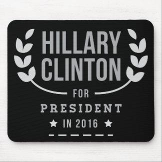 Schwarzweiss-indischer Sesam Hillary 2016 Mousepad