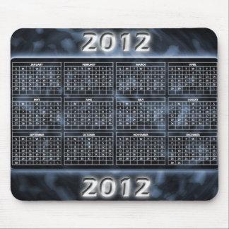 Schwarzweiss-Kalender 2012 für Mousepad