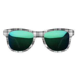 Schwarzweiss-kariertes Sonnenbrille
