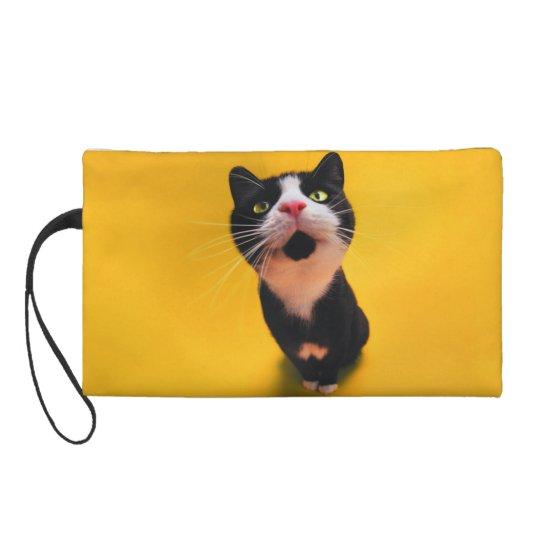 Schwarzweiss-KatzeSmoking Katzehaustier Wristlet